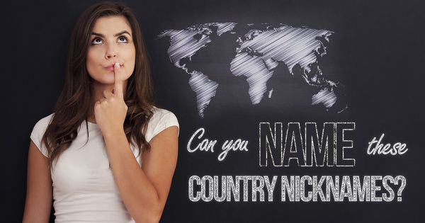 Can You Name These Country Nicknames?