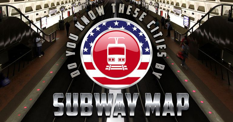 Do You Know These Cities By Subway Map?