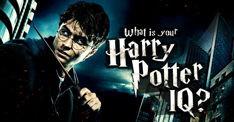 "What Is Your ""Harry Potter"" IQ?"