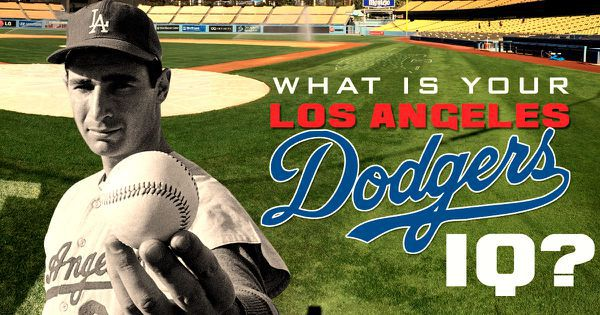 What Is Your Los Angeles Dodgers IQ?