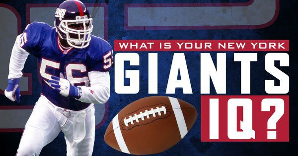 What Is Your New York Giants IQ?