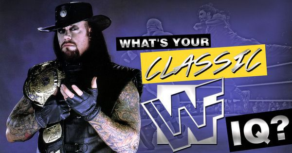 What's Your Classic WWF IQ?