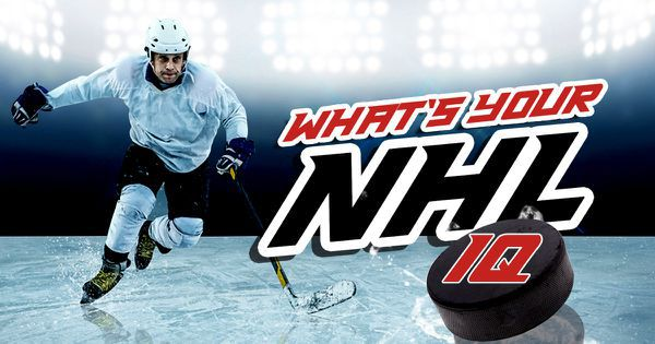 What's Your NHL IQ?