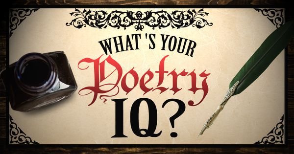 What's Your Poetry IQ?