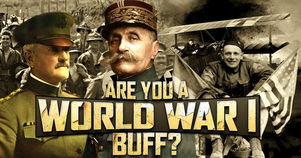 Are You a World War I Buff?