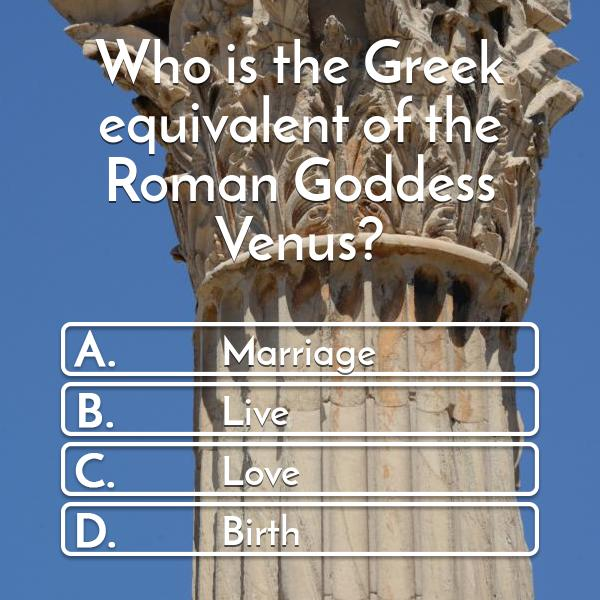 who-is-the-greek-equivalent-of-the-roman-goddess-venus-