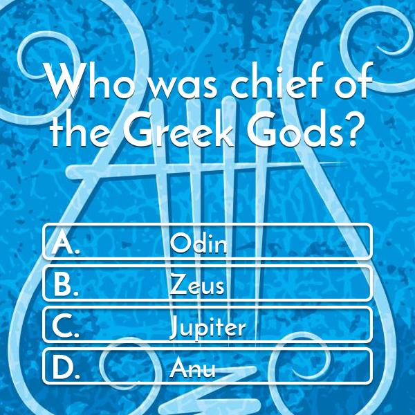 who-was-chief-of-the-greek-gods-