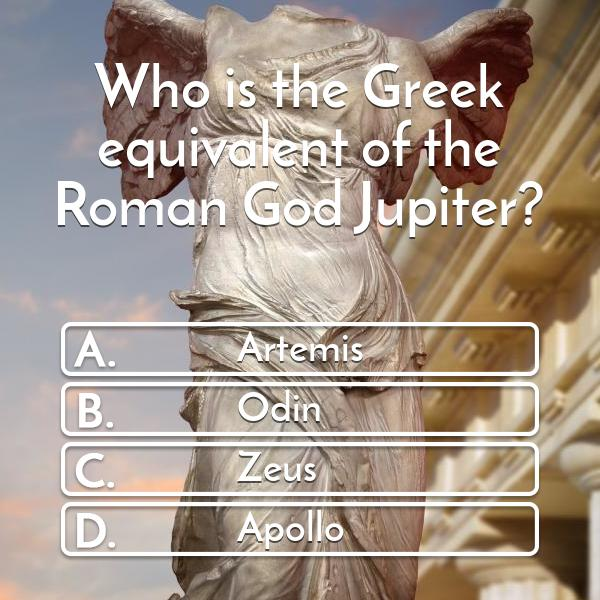 who-is-the-greek-equivalent-of-the-roman-god-jupiter-