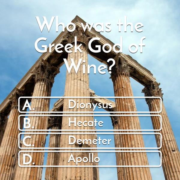 who-was-the-greek-god-of-wine-