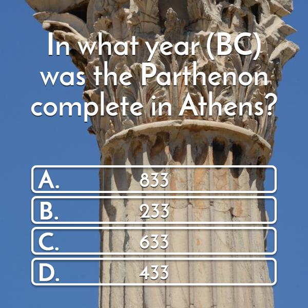 in-what-year-bc-was-the-parthenon-complete-in-athens-