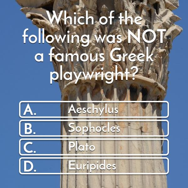 which-of-the-following-was-not-a-famous-greek-playwright-