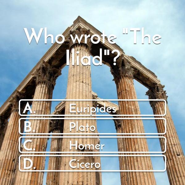 who-wrote-the-iliad-