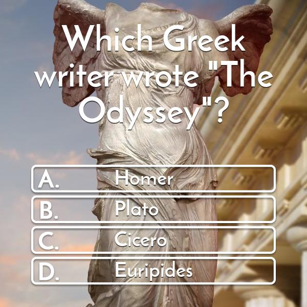 which-greek-writer-wrote-the-odyssey-