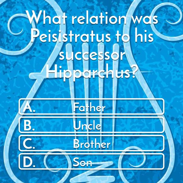 what-relation-was-peisistratus-to-his-successor-hipparchus-