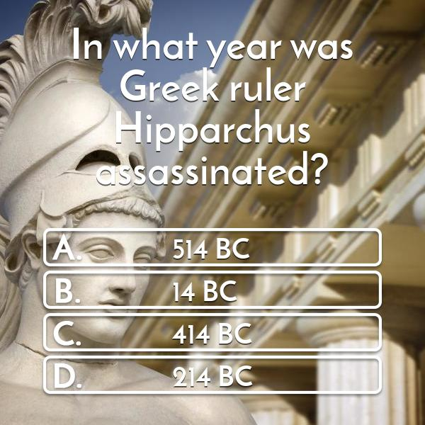 in-what-year-was-greek-ruler-hipparchus-assassinated-