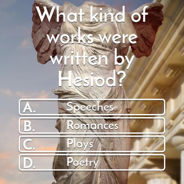 what-kind-of-works-were-written-by-hesiod-